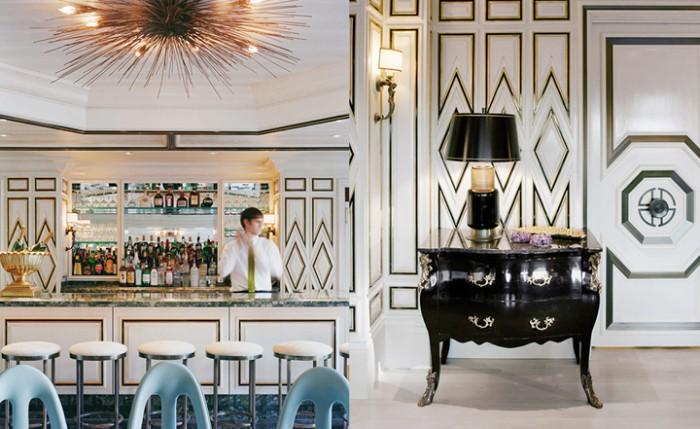 Ресторан Bergdorf Goodman  ТОП ИНТЕРЬЕР ДИЗАЙНЕРЫ: КЕЛЛИ УИРСТЛЕР (KELLY WEARSTLER) 102 e1458524296585