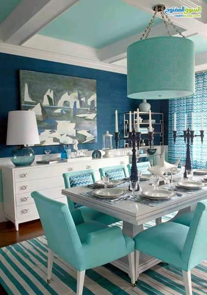 Вдохновение - голубые обеденные стулья  15 СОВРЕМЕННЫХ СТУЛЬЕВ 104