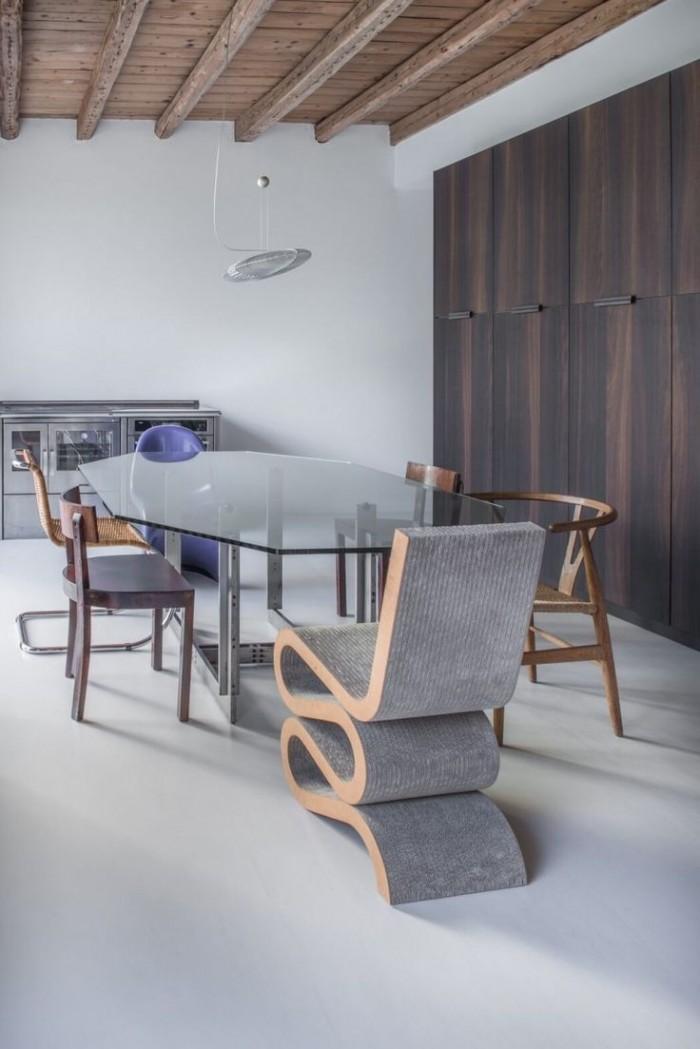 Идея современного дизайна стульев для декора столовой  15 СОВРЕМЕННЫХ СТУЛЬЕВ 114 e1458775553813