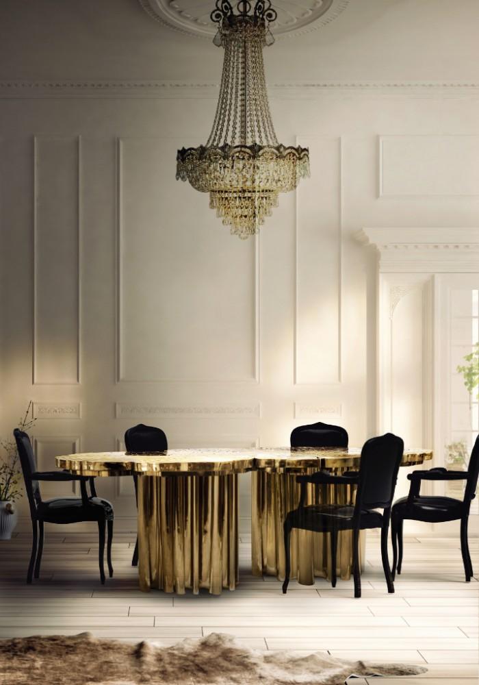 Обеденный стол Fortuna от Boca do Lobo придаст роскоши вашей столовой, окончательное дополнение для самых изысканных пространств.  ТОП 20 СОВРЕМЕННЫХ ОБЕДЕННЫХ СТОЛОВ 117 e1458838785860