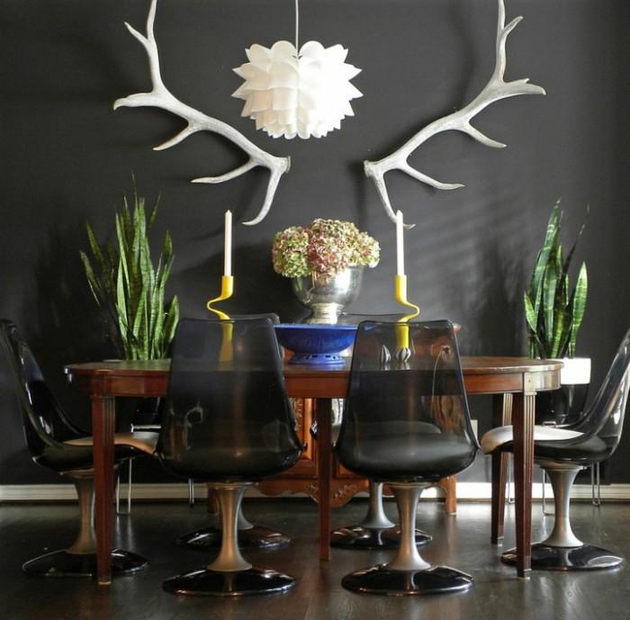 Полупрозрачные серые современные стулья  15 СОВРЕМЕННЫХ СТУЛЬЕВ 143 e1458775500930