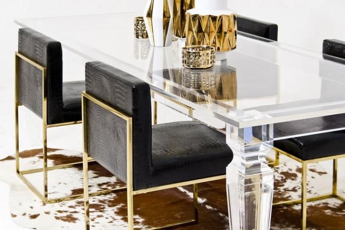 Современные стулья для столовой с кожанным принтом для роскошного размещения  15 СОВРЕМЕННЫХ СТУЛЬЕВ 44 e1458606739859