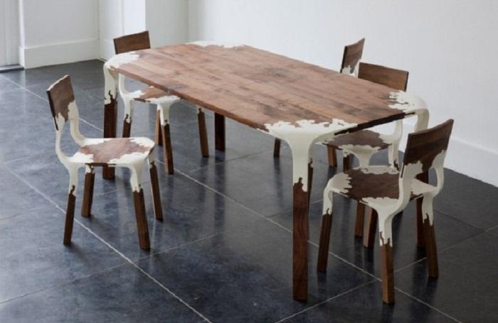 Дерево и пластик - современные стулья  15 СОВРЕМЕННЫХ СТУЛЬЕВ 64
