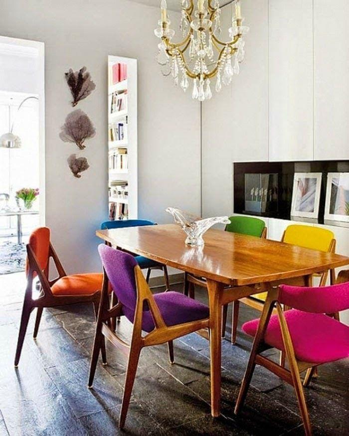 Современный дизайн стульев в радужных цветах  15 СОВРЕМЕННЫХ СТУЛЬЕВ 74