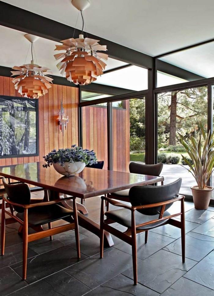 Простые линии для простого но удобного деревяного стола, идеального для любого интерьера  ТОП 20 СОВРЕМЕННЫХ ОБЕДЕННЫХ СТОЛОВ 76 e1458836646702