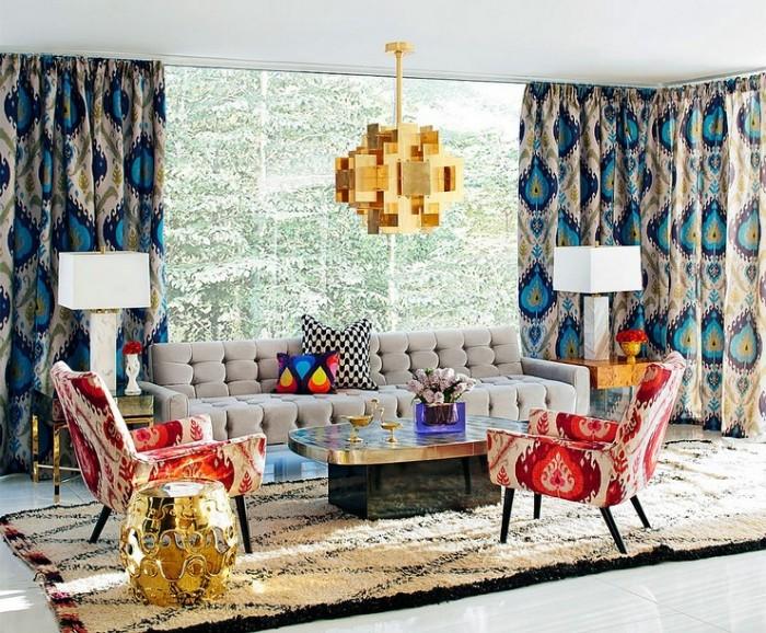 10 Лучших дизайн проектов от Джонатана Адлера — Jonathan Adler 09  10 Лучших дизайн проектов Джонатана Адлера — Jonathan Adler Jonathan Adler Interior Design Inspiration for Living Room Projects e1457631038524