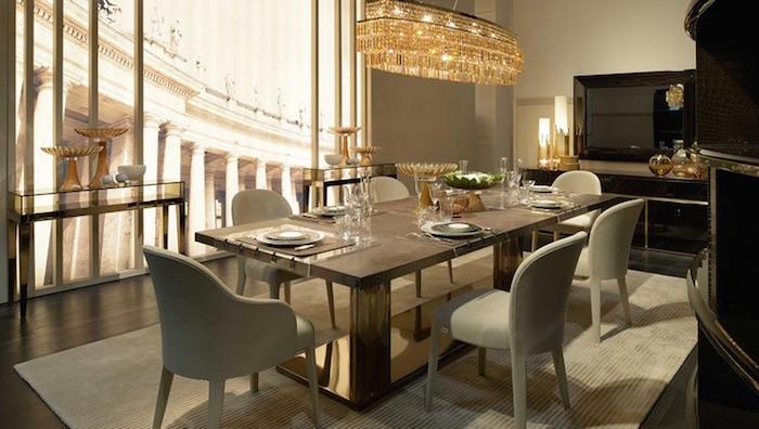Dining-Room-Design-Ideas-50-inspiration-dining-tables-Fendi-Luxury-Dining-Room-tables  Идеи для столовой : подборка 20 столов Dining Room Design Ideas 50 inspiration dining tables Fendi Luxury Dining Room tables