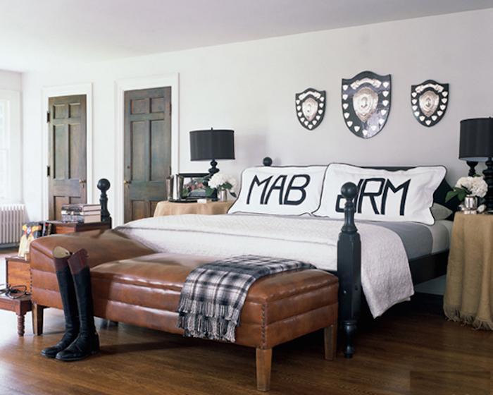 Mark-Badgley-and-James-Mischka-fashion-bedroom-decor  10 шагов для создания идеальной спальни Mark Badgley and James Mischka fashion bedroom decor