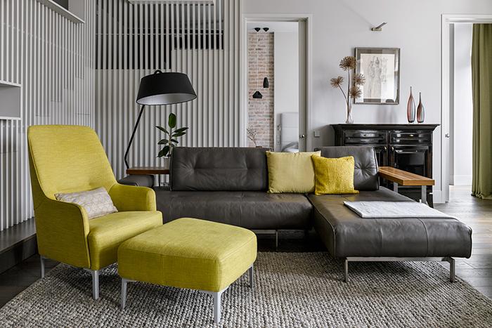 Двухэтажные апартаменты проект Мастерской   Двухэтажные апартаменты: проект «Мастерской 17»                                                                                 17 01