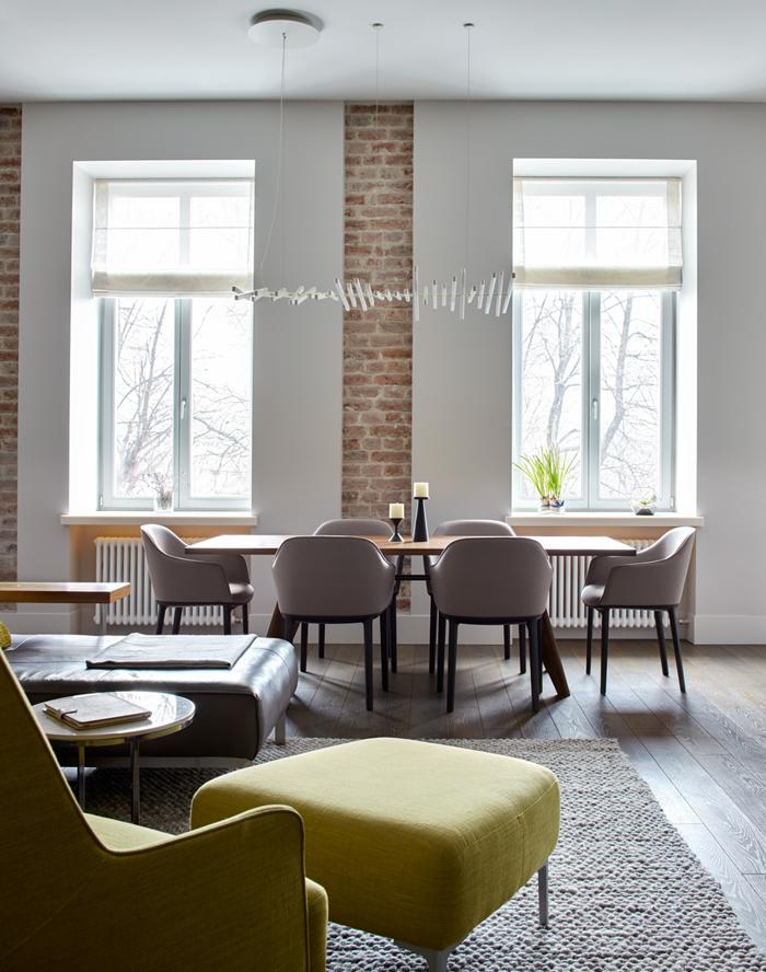 Двухэтажные апартаменты проект Мастерской