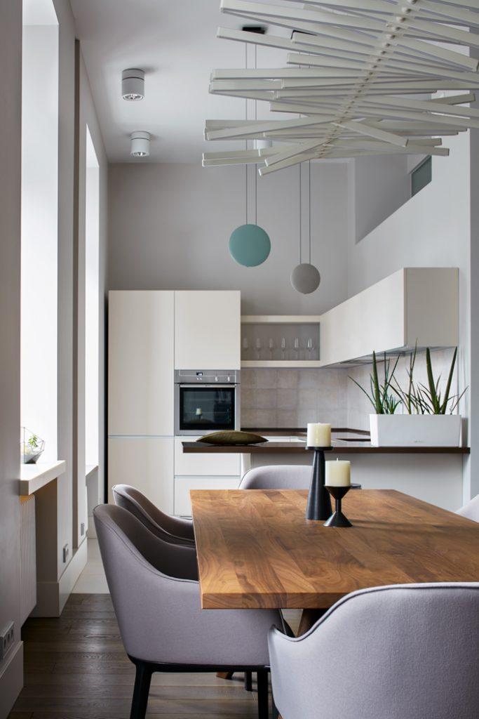 Двухэтажные апартаменты проект Мастерской  Двухэтажные апартаменты: проект «Мастерской 17»                                                                                 17 04