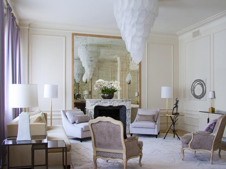 гостиная Печ - 5  ТОП-дизайнеры: интерьер квартиры от Марины Филипповой                         5