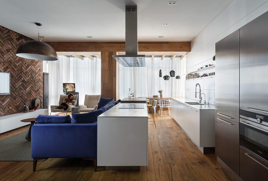 Апартаменты для творческой семьи - проект SVOYA STUDIO 1