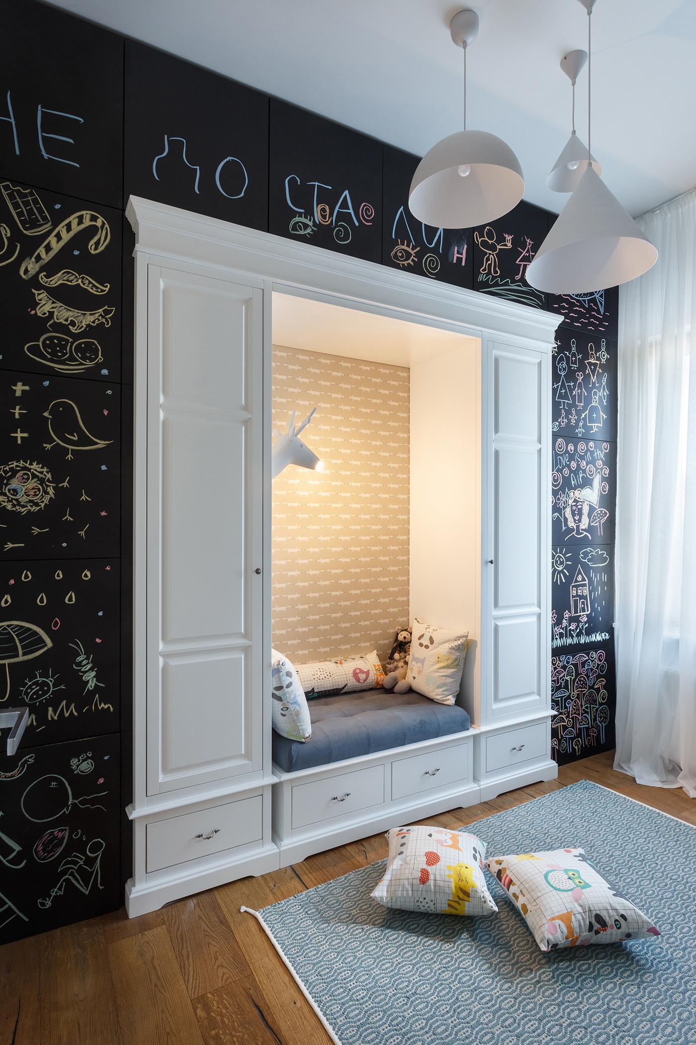 Апартаменты для творческой семьи - проект SVOYA STUDIO 10