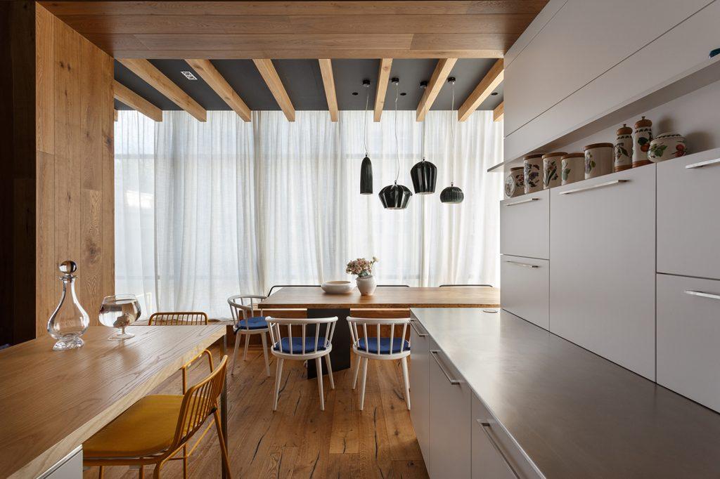 Апартаменты для творческой семьи - проект SVOYA STUDIO 2