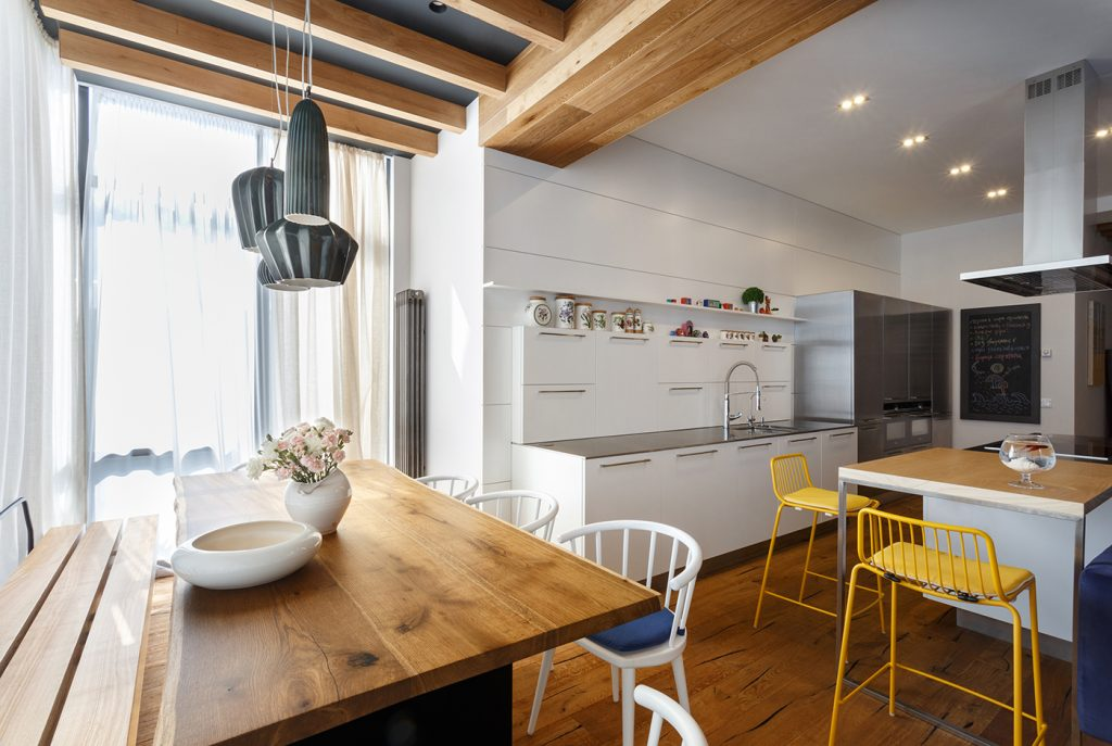 Апартаменты для творческой семьи - проект SVOYA STUDIO 3