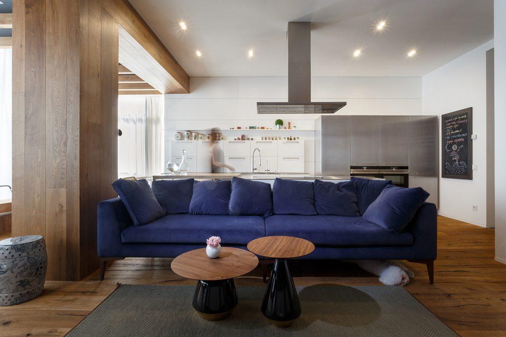 Апартаменты для творческой семьи - проект SVOYA STUDIO 4