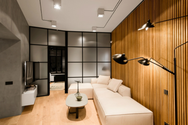 Интерьер в стиле лофт в ЖК Skyline 2 оформление интерьера 3 модных стиля в оформление интерьера – мнение эксперта                                                 Skyline 2