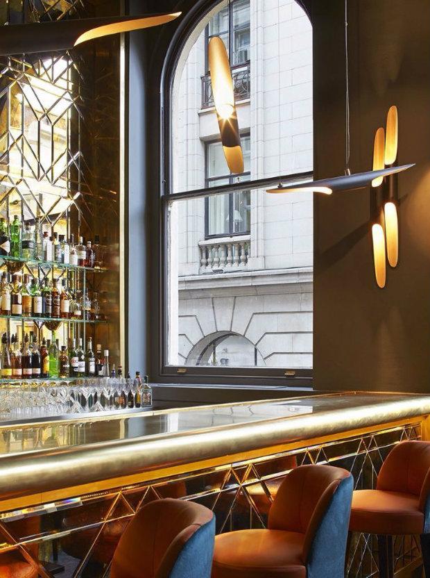 ВДОХНОВЛЯЮЩИЙ ДИЗАЙН ИНТЕРЬЕРА РЕСТОРАНА CHRISTOPHER'S, ЛОНДОН дизайн интерьера ресторана Вдохновляющий дизайн интерьера ресторана CHRISTOPHER'S, Лондон 1 6