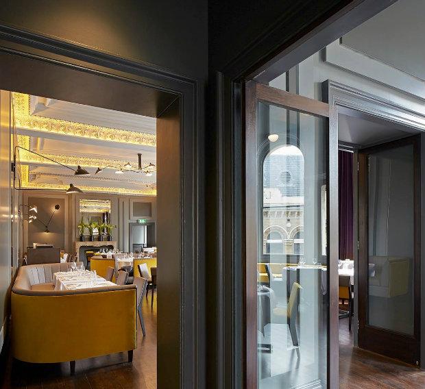 2 дизайн интерьера ресторана Вдохновляющий дизайн интерьера ресторана CHRISTOPHER'S, Лондон 2 5