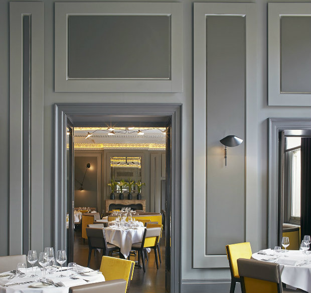 3 дизайн интерьера ресторана Вдохновляющий дизайн интерьера ресторана CHRISTOPHER'S, Лондон 3 5