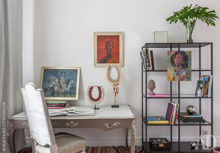 5  ТОП-дизайнеры: универсальный интерьер московской квартиры от Марины Брагинской 5 2