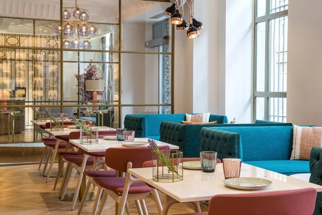 Интерьер дизайн-отеля VINCCI CENTRUM в Мадриде дизайн-отеля Интерьер дизайн-отеля VINCCI CENTRUM в Мадриде Discovering Contemporary Boutique Hotel Vincci Centrum in Madrid 4