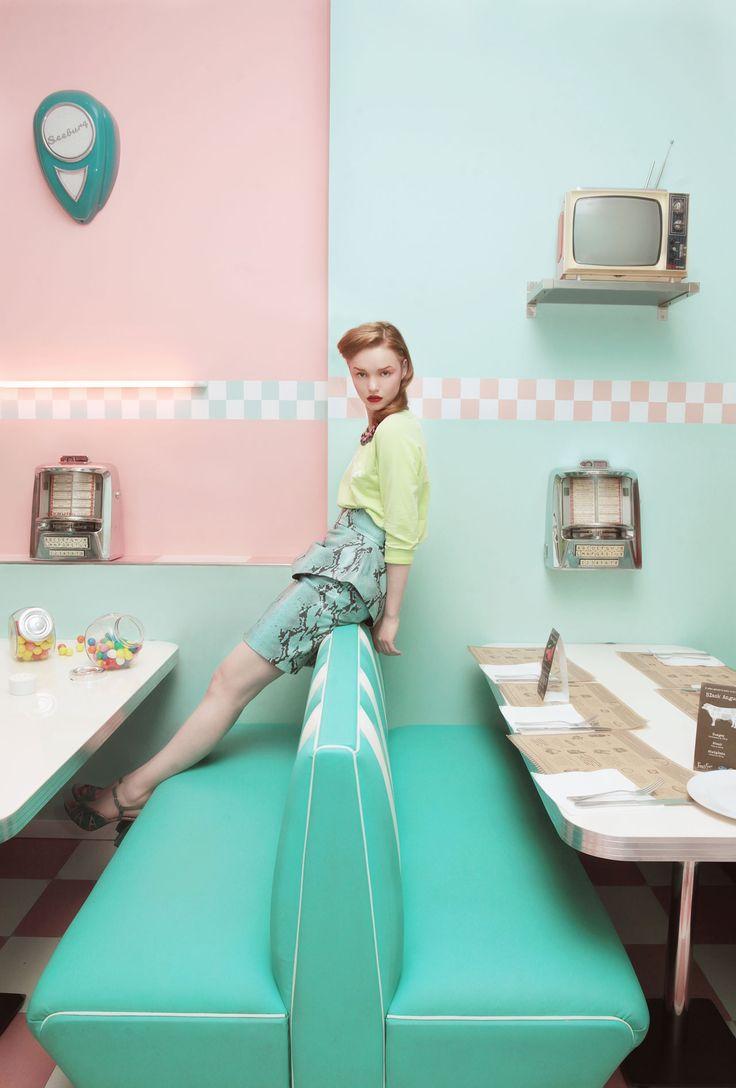 fashion ретро дизайн TRENDZINE - новый журнал о ретро дизайне fashion