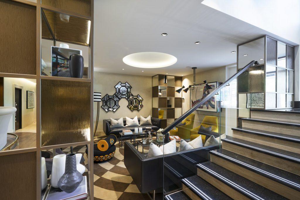 Дизайн интерьера гостиницы Park Apartments в Юрмале