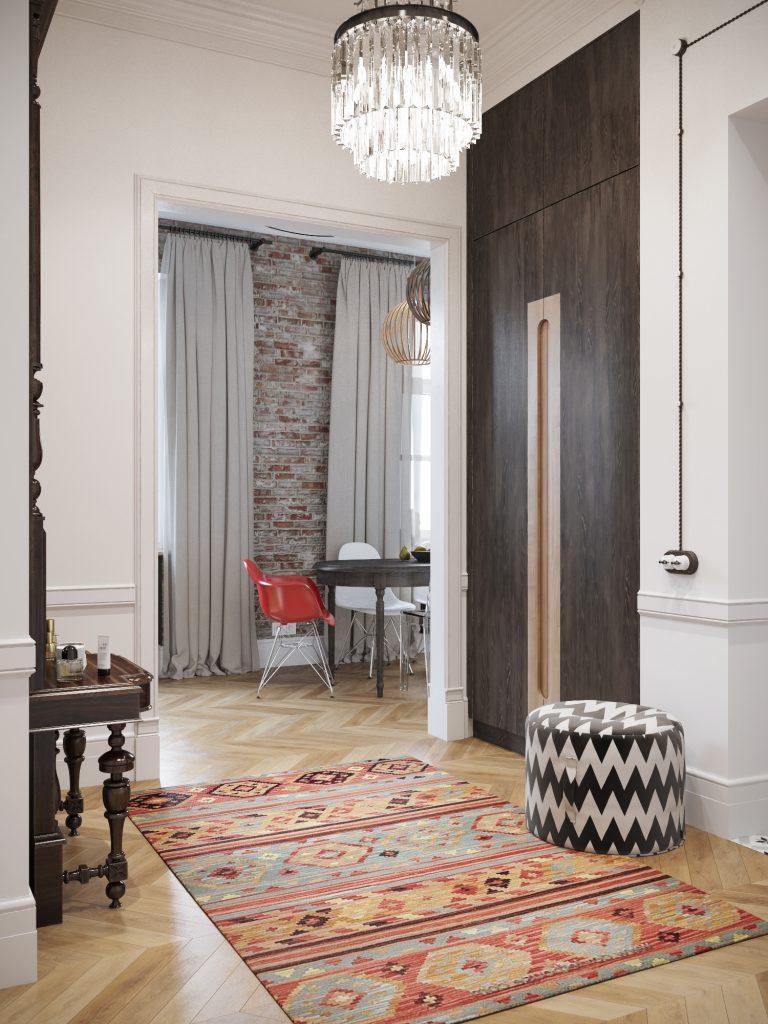 Британский стиль британский стиль Британский стиль в центре Москвы - проект дизайнера Айи Лисовой 011429e705551db