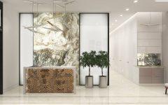 ТУР ПО КВАРТИРЕ: Современный домашний декор с необычными стенами!