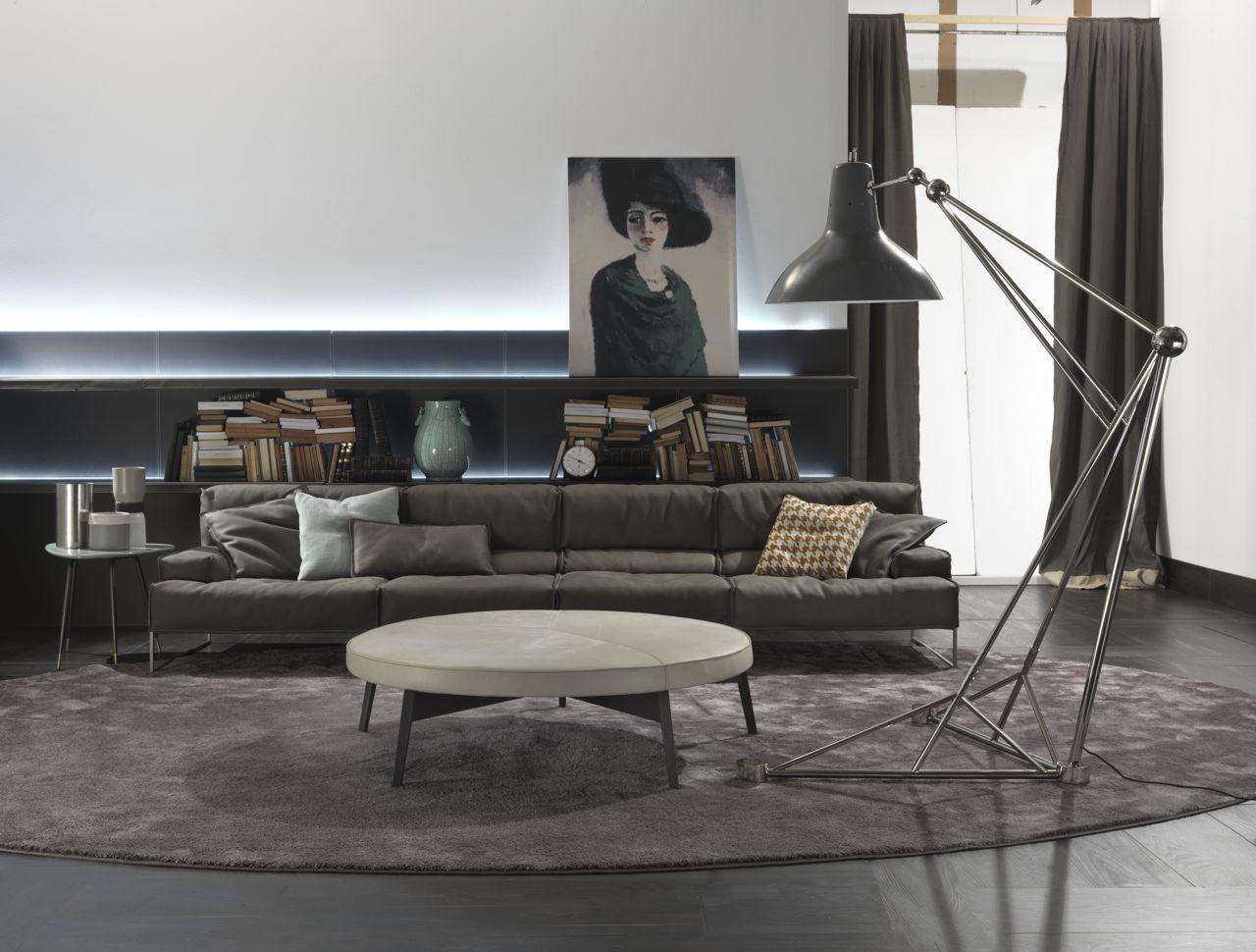 современных напольных светильников современных напольных светильников 10 ярких современных напольных светильников для вашего дома Use floor lamps in your industrial style living room 3