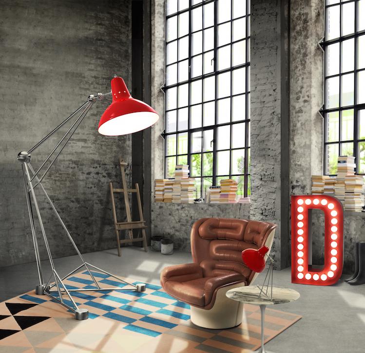Подборка современных дизайнерских торшеров дизайнерских торшеров Подборка современных дизайнерских торшеров delightfull diana floor giant colorful loft studio brass vintage lamp 01