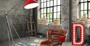 Идеальные промышленные светильники для вашей гостиной