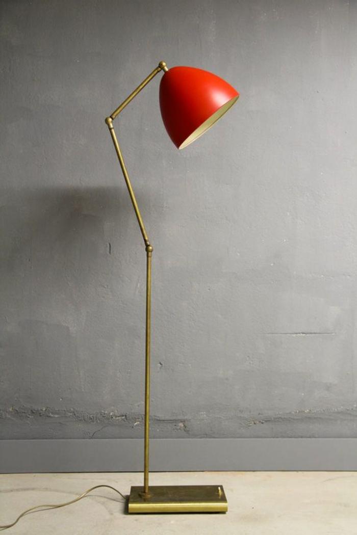 современных напольных светильников современных напольных светильников 10 ярких современных напольных светильников для вашего дома wohnraumleuchten originelle tischlampe lampenschirm rot