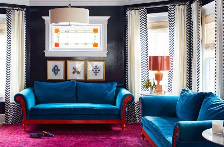 цветовые сочетания для всех комнат 6 цветовых решений 7 простых цветовых решений для каждой комнаты                                                  6 e1473248133839