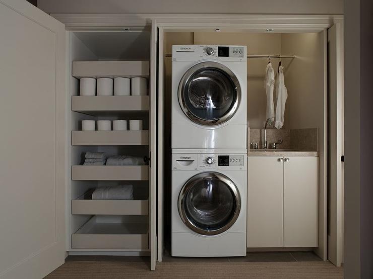 дизайнерских идей дизайнерских идей 10 дизайнерских идей, которые наверняка улучшат качество Вашей жизни closet laundry room tension rod over sink stacked pull out closet shelves