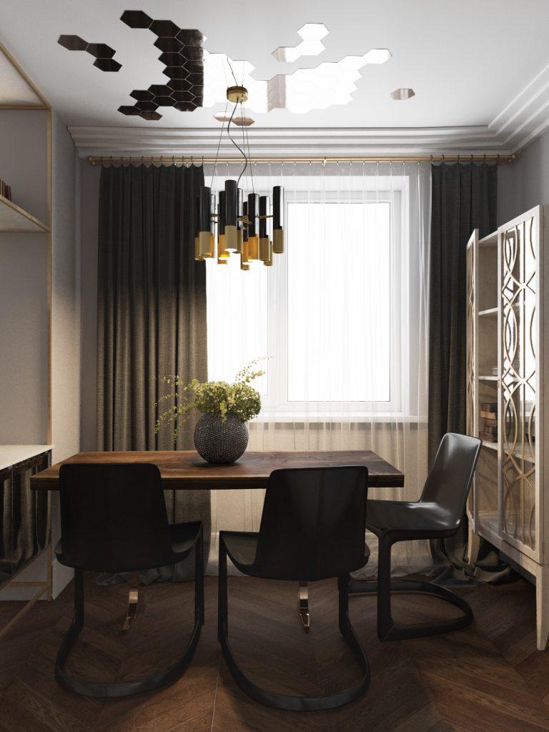 shmidt-4 ар-деко Проект интерьера в стиле ар-деко – Shmidt Studio, Беларусь shmidt 4 768x1024