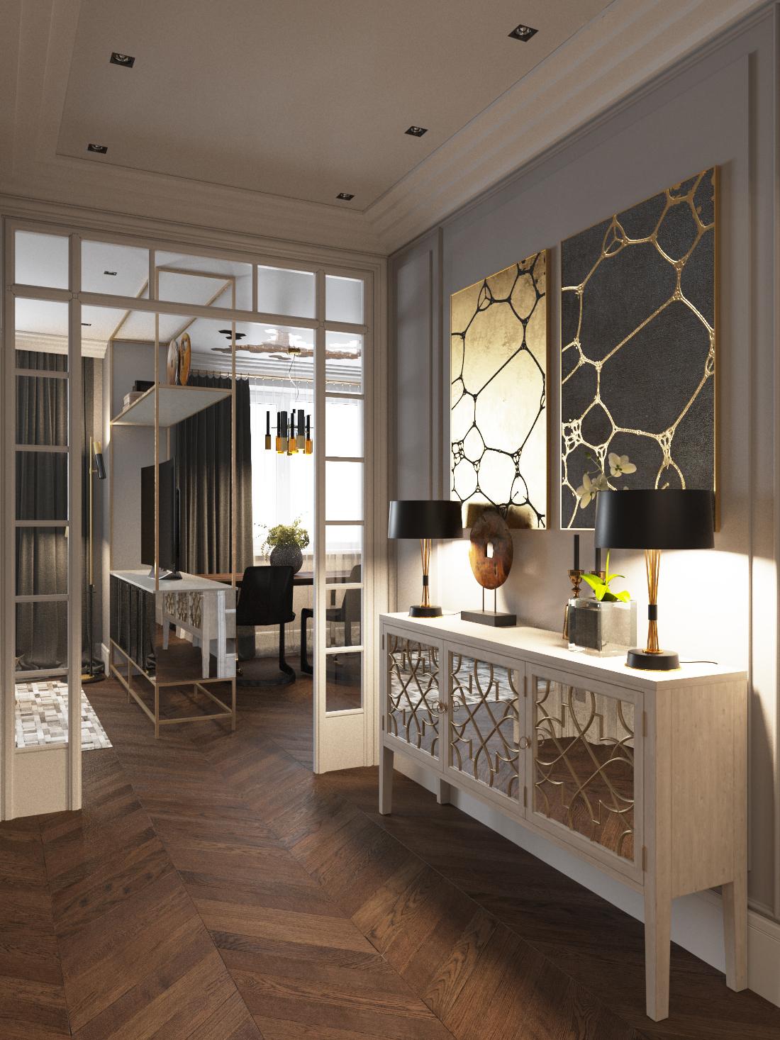 shmidt-6 ар-деко Проект интерьера в стиле ар-деко - Shmidt Studio, Беларусь shmidt 6