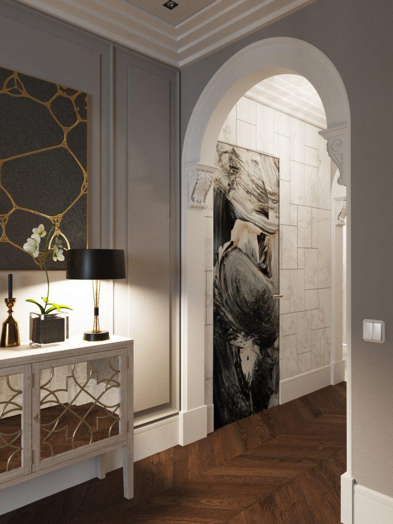 shmidt-8 ар-деко Проект интерьера в стиле ар-деко – Shmidt Studio, Беларусь shmidt 8 768x1024