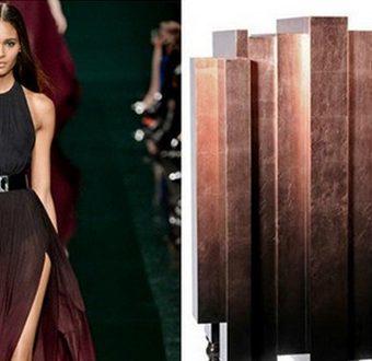 Вдохновение дизайном - мода и мебель