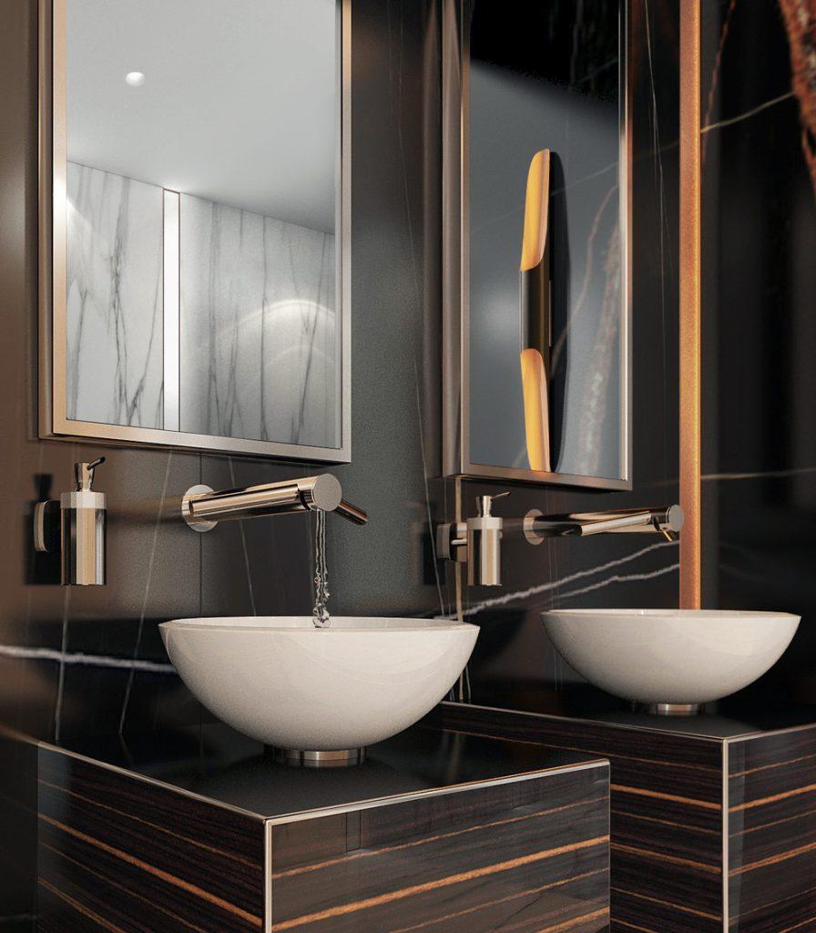 интерьер ванной комнаты интерьер ванной комнаты Креативный интерьер ванной комнаты 1 4