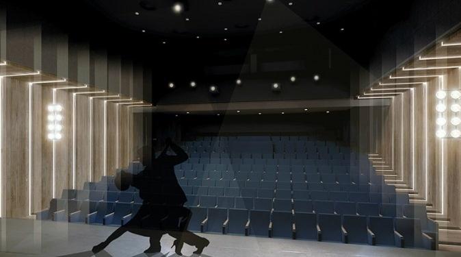 1171176 Театр на Андреевском Театр на Андреевском спуске - самая обсуждаемая работа Олега Дроздова 1171176