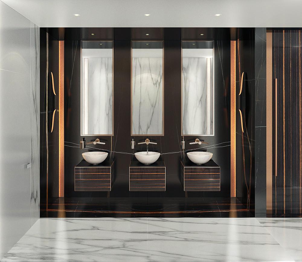 интерьер ванной комнаты интерьер ванной комнаты Креативный интерьер ванной комнаты 5 3