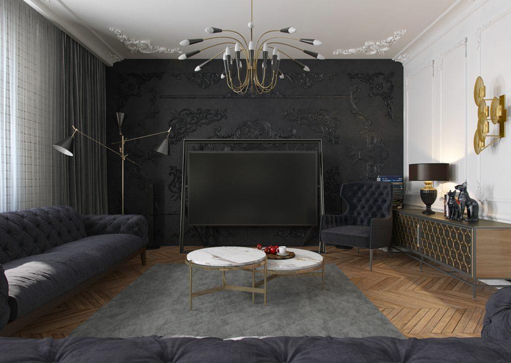 Квартира для художника - 3 варианта дизайна Квартира для художника Квартира для художника - 3 варианта дизайна Zhyltsov Dmitriy 6
