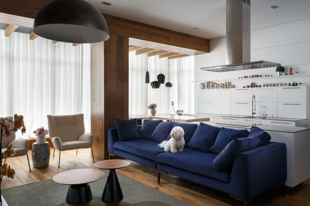 Квартира для художника - 3 варианта дизайна