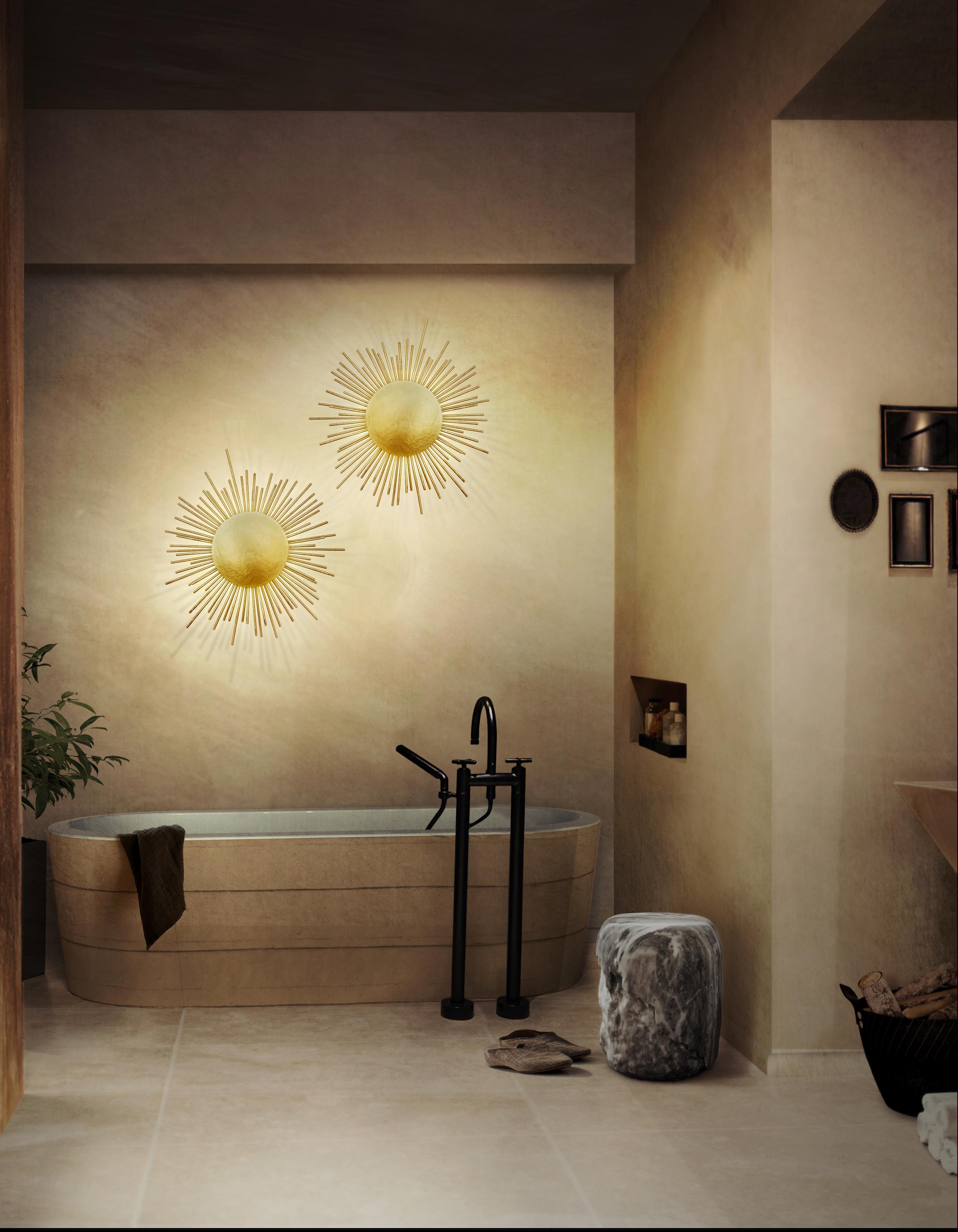 Ванная комната  Ванная комната по Знаку Зодиака brabbu ambience press 48 HR