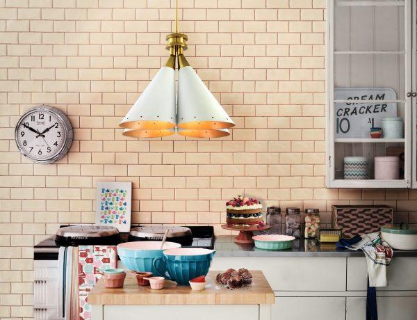 Как превратить помещение в дом: лучшие советы delightfull madeleine unique ceiling dining vintage lamp 04 600x460