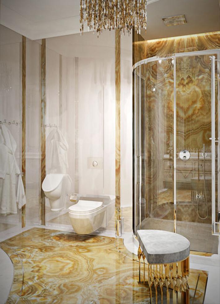 Ванная комната  Ванная комната по Знаку Зодиака mandy stool koket projects