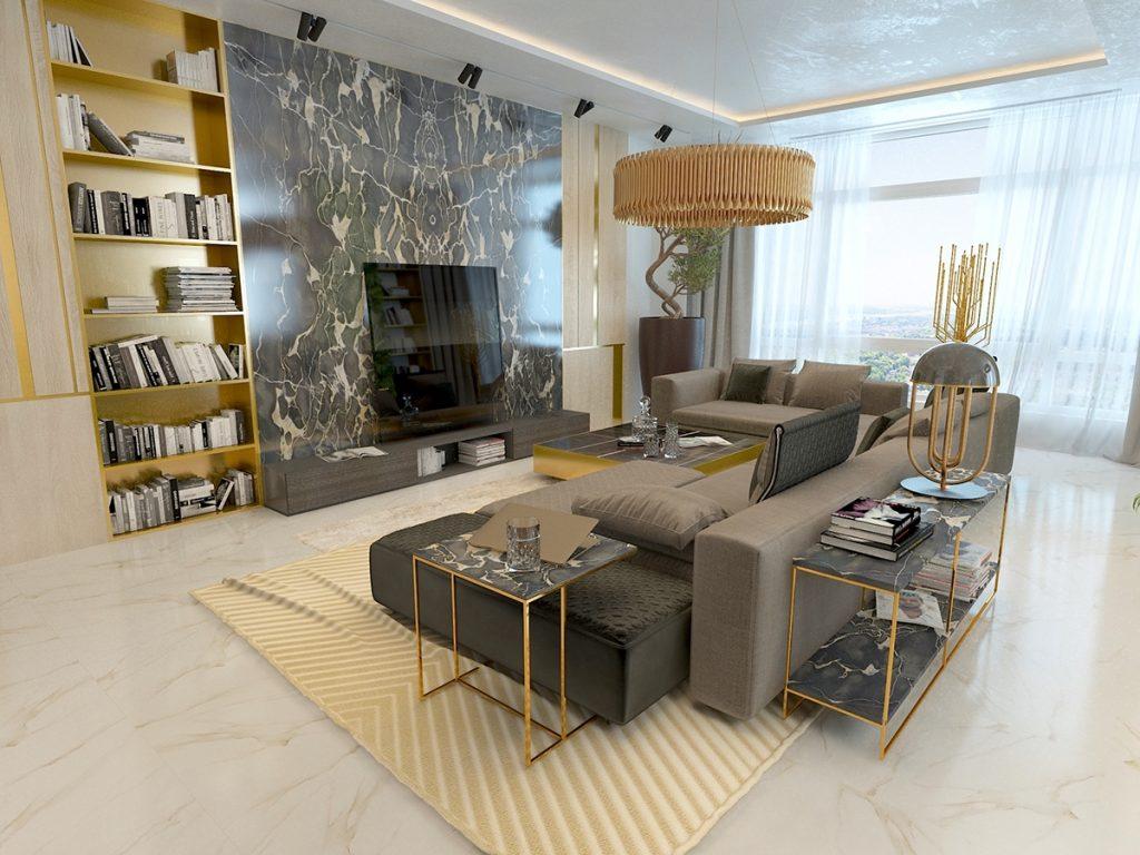 Мрамор в интерьере - 3 совета от дизайнеров Мрамор в интерьере Мрамор в интерьере - 3 совета от дизайнеров Alexandra Shokarova Kyiv 1